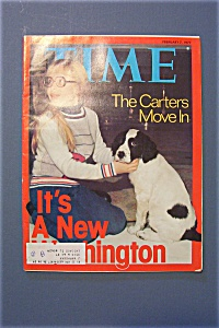 Time Magazine - February 7, 1977 - The Carters Move In