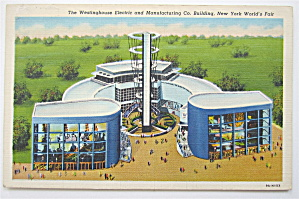 Westinghouse Electric & Mfg Co, New York Fair Postcard