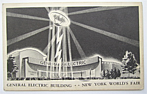 General Electric Building, New York World Fair Postcard