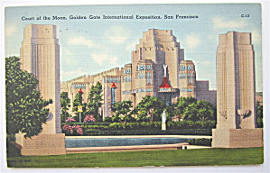 Court Of The Moon, Golden Gate Expo Postcard (Image1)