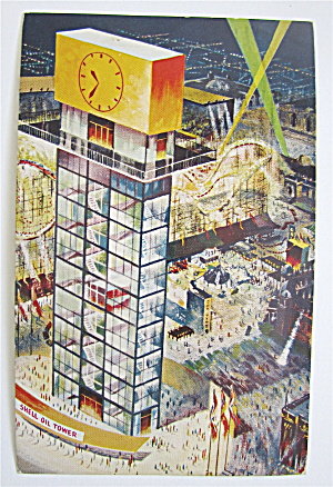 Shell Oil Tower Postcard