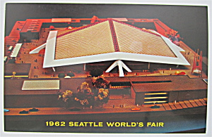 Coliseum 21 Building, Seattle World's Fair Postcard