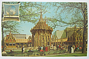 Thailand Pavilion, New York World's Fair Postcard