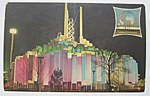 Tower Of Light, New York World's Fair Postcard