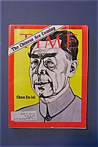 Time Magazine - November 8, 1971 - Chou En - Lai