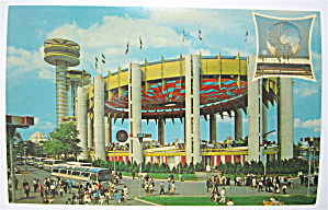 New York State Exhibit, New York World Fair Postcard