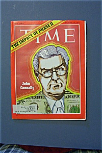 Time Magazine - October 18, 1971 - John Connally