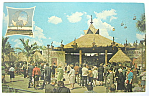 Caribbean Pavilion, New York World Fair Postcard