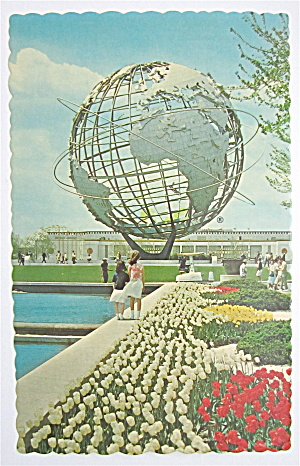 Unisphere & Court Of Peace New York World Fair Postcard (Image1)