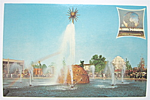 The Solar Fountain, 1965 New York World Fair Postcard
