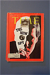 Time Magazine - October 11, 1971 - The New Spy