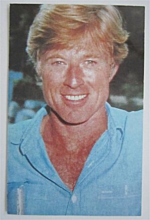 Robert Redford Postcard (Image1)