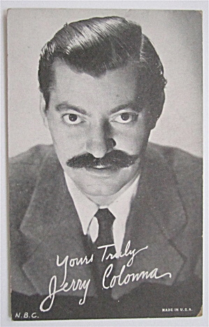 Jerry Colonna Postcard (Image1)