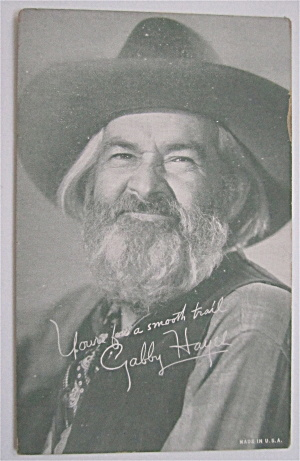 Gabby Hayes Postcard (Image1)