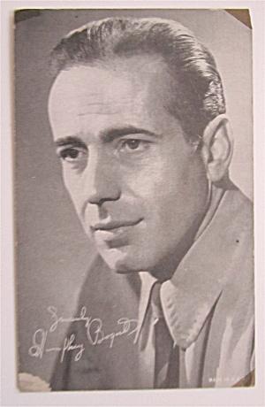 Humphrey Bogart Postcard (Image1)