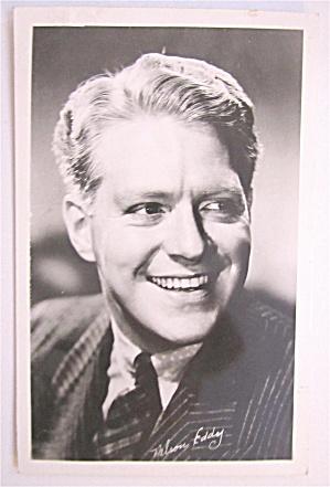 Nelson Eddy Postcard (Image1)