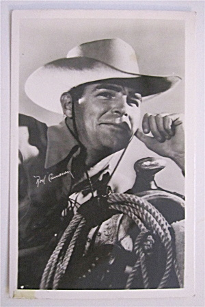 Rod Cameron Postcard (Image1)