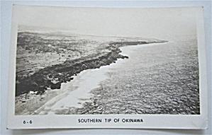Southern Tip Of Okinawa Postcard (Image1)