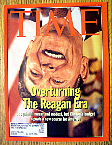 Time Magazine-august 16, 1993-ronald Reagan