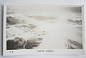 Yontan Airfield Postcard
