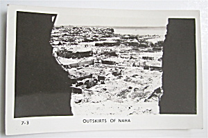 Outskirts Of Naha Postcard