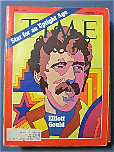 Time Magazine - September 7, 1970 - Elliott Gould