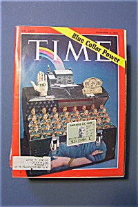 Time Magazine - November 9, 1970 - Blue Collar Power
