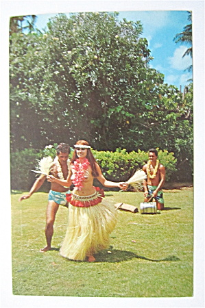 Tahitian Dancer Postcard  (Image1)