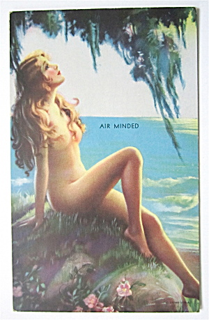 Air Minded Postcard