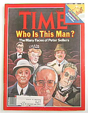 Time Magazine -march 3, 1980- Many Faces Peter Sellers