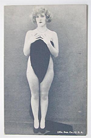 Woman Posing Nude Postcard  (Image1)