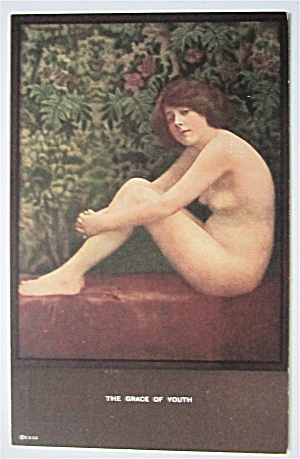 The Grace Of Youth Postcard  (Image1)