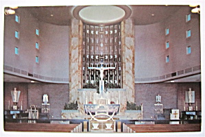 Saint Priscilla Church Sanctuary, Chicago, Ill Postcard