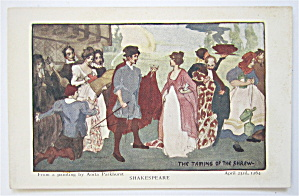 The Taming Of The Shrew, Shakespeare Postcard