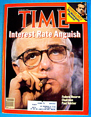 Time Magazine-march 8, 1982-paul Volcker