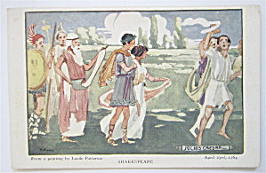 Julius Caesar, Shakespeare Postcard