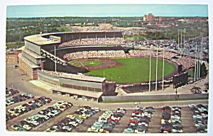 Milwaukee County Stadium, Milwaukee, WI Postcard  (Image1)