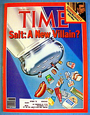 Time Magazine-march 15, 1982-salt: A New Villian?