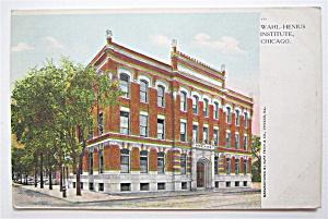 Wahl-Henius Institute, Chicago Postcard  (Image1)
