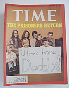 Time Magazine - February 19, 1973 - Prisoners Return
