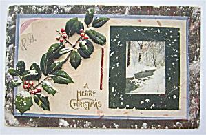 A Merry Christmas Postcard  (Image1)