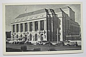War Memorial Opera House, San Francisco, CA Postcard  (Image1)