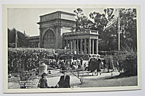 Band Stand Golden Gate Park, San Francisco Postcard  (Image1)