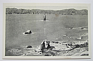 Lighthouse At The Golden Gate, San Francisco Postcard  (Image1)