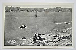 Lighthouse At The Golden Gate, San Francisco Postcard  (Image1)