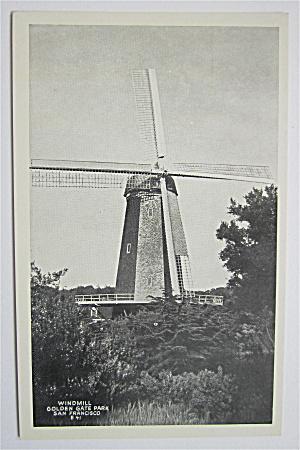 Windmill, Golden Gate Park, San Francisco Postcard  (Image1)