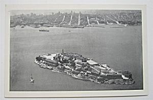 Alcatraz Island, San Francisco Bay Postcard  (Image1)