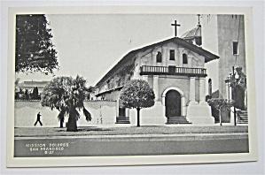 Mission Dolores, San Francisco Postcard  (Image1)