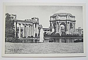 Palace Of Fine Arts, San Francisco Postcard  (Image1)