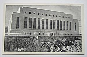 United States Mint, San Francisco, California Postcard  (Image1)